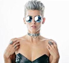 Havilah Bender by Steph Grant Photography in Dallas, TX. Buzzed Pixie, Short Pixie, Short Hair Cuts, Short Hair Styles, Girls Short Haircuts, Short Girls, Pompadour Style, Undercut Styles, Pixie Haircut