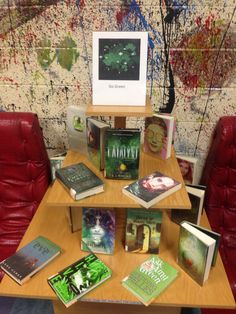 "Young Adult Library Display ""Go Green"" Saint Patrick's Day"