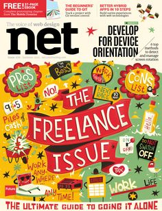 #Net Magazine 270. The #Freelance issue!