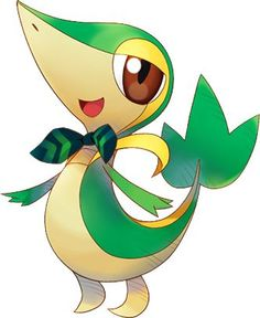 Snivy is one of my favorite Pokemon in the Unova region, Snivy is better than Tepig!
