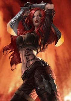 Katarina, League of Legends by Chris Koh