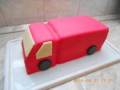 Tűzoltó autó torta recept + összeállítás | zuborandi receptje - Cookpad receptek Butter Dish, Wooden Toys, Dishes, Wood Toys, Plate, Woodworking Toys, Utensils