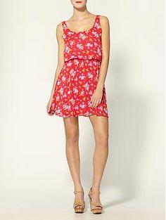 Floral Blousant Dress by Hive & Honey