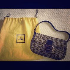 FENDI Handbags - Fendi baguette demin