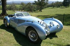[The Devaux Coupe is an Australian automobile released  in 2001. The Devaux Coupe was designed by David J Clash in Australia. It was named after his mothers maiden name (French ancestors) as the car was inspired by the great French coach builders of the 1930s. It is powered by a 3.4 litre Jaguar straight 6, or a GM LS1 5.7 V8 producing 361 bhp (269 kW; 366 PS) and 470 N·m (350 lb·ft) of torque. There is also a spyder variant. ~sdh]