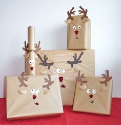 These crazy little reindeers make a an easy way to add some cheekiness to Christmas this year