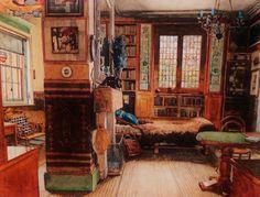 Aesthetic Movement interior