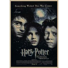 Harry Potter Retro Poster