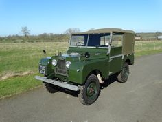 For Sale 1952 Land Rover Series 1 80 Inch | Morse Classics