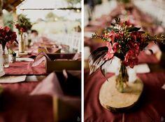 Casamento de dia em blumenau. A decoração em estilo Boho ficou incrível e combinou muito com os noivos. Confere aí!