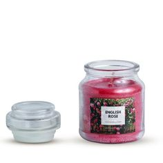 CLASSIC JAR SCENTED CANDLE RED LARGE ENGLISH ROSE AROMA Scented Candles, Candle Jars, Buy Candles, Beautiful Candles, English Roses, Fragrance, Classic, Red, Derby