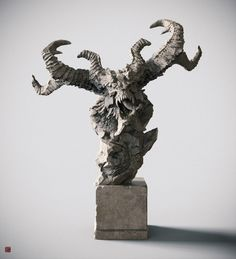Monster, Zhelong XU on ArtStation at https://www.artstation.com/artwork/monster-2c38d792-7091-496a-aa57-b3d7177f231a