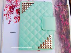 Mint iPad Mini Case by iFashionAccessory on Etsy Ipad Mini Cases, Ipad Mini 2, Ipad Mini Accessories, Best Ipad, Iphone Cases, Iphone 5s, Mint, Leather Case, Ipad Stand