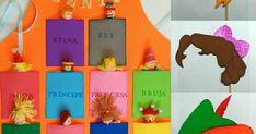 Delantal cuenta cuentos con marionetas goma eva y fieltro. Atrezzo carnaval Peter Pan, Wendy y campanilla Sharpie, Peter Pan, Logos, Carnival, Tinkerbell, Aprons, Jelly Beans, Short Stories, Felting