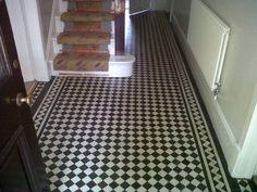 victorian tiles hallway - Google Search