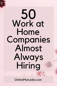 Work From Home Companies, Online Jobs From Home, Work From Home Opportunities, Legit Work From Home, Work From Home Jobs, Earn Money From Home, Way To Make Money, Job Info, Job Interview Tips