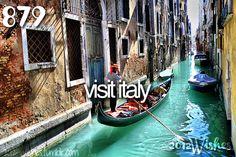 Visit Italy.