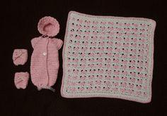 Large Angel Baby Crochet Bonnet 20 week size F hook Caron Simply Soft yarn Ch 2 Row 1: 8 hdc in first stitch Row 2:...