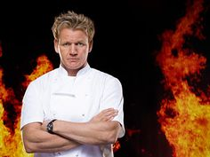 """The host of """"Hell's Kitchen"""" is a good chef, lost beneath his own shtick. Rachel Brown, Chef Gordon Ramsay, Becoming A Father, Hells Kitchen, Character Design Animation, Executive Chef, New Chapter, Stress And Anxiety, How To Memorize Things"""
