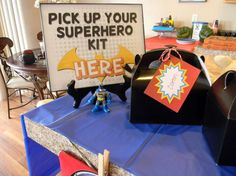 Superheroes Birthday Party Ideas   Photo 1 of 11   Catch My Party