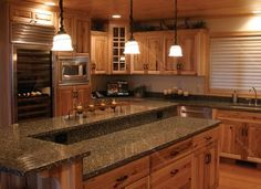 Kitchen Cabinets Java Color my new kitchen..java homecrest cabinets, cambria quartz