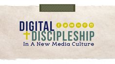 If you're looking for innovation, faith formation, and education all in one beautiful package, check out @vibrantfaithmin and Jared Rendell as they tackle Digital Discipleship in a New Media Culture.