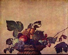 Canestra di frutta, 1596