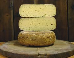 Valle d'Aosta Fromadzo is an Italian cow's milk cheese produced in the Aosta Valley, one of the region's specialties. It has a protected designation of origin, or PDO status