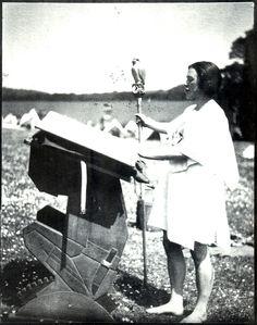 Kathleen M. Milnes (Blue Falcon), c. 1927. Image courtesy of Kibbo Kift Foundation © Kibbo Kift Foundation