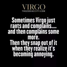 Daily updated fun facts on the zodiac signs. Virgo And Scorpio, Virgo Love, Virgo Sign, Zodiac Signs Virgo, Virgo Horoscope, Astrology Signs, Virgo Memes, Virgo Quotes, Virgo Traits