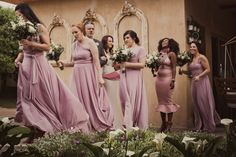 Cradle Valley Guest House in Muldersdrift. Bridesmaids, Bridesmaid Dresses, Wedding Dresses, Wedding Album, Dusty Pink, Bouquets, Wedding Photography, How To Wear, Fashion