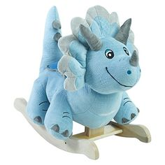 Rockabye Fossil Dinosaur Rocker, One Size -- Check out this great image @