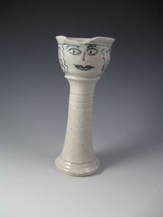 Queen Esther Judaica Purim Cup by OyClay Pottery at etsy.com