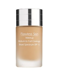 Flawless Skin Makeup Broad Spectrum SPF15 --AMAZING! Review coming soon on chicandgreendaily.com