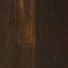 "Mannington Marrakech 3-1/2"" Hickory Hardwood Flooring in Peppercorn"