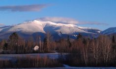 View of the White Mountains from Route 117 in Sugarhill, NH