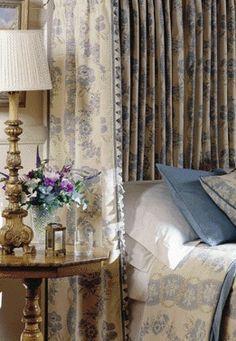 lovely blue bedding