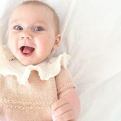 Testprøvning #knitted #knitstagram #nopattern #mydesign #håndlaget #knit #babytøy #strikketøj