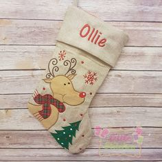 Personalised christmas stocking , First Christmas Stocking,1st Christmas,Personalized Stockings, Personalised Stocking , CHRISTMAS decor