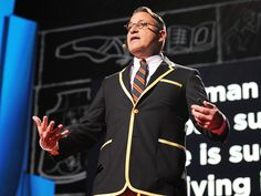 Chip Kidd: Designing books is no laughing matter. OK, it is. via TED