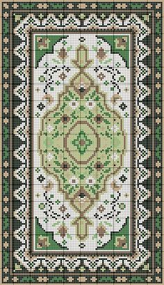 Charted Wool latchhook rug kits in traditional designs Cross Stitch Pillow, Cross Stitch Borders, Cross Stitch Samplers, Cross Stitching, Cross Stitch Embroidery, Cross Stitch Freebies, Cross Patterns, Modern Cross Stitch Patterns, Cross Stitch Designs