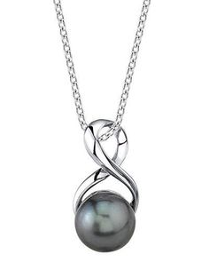 Infinity Pendant, Infinity Necklace, Pearl Pendant Necklace, Pearl Jewelry, Jewelery, Jewelry Box, Silver Jewelry, Pearl Necklaces, Women's Jewelry