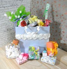 山盛りのプレゼント お買い上げありがとうございました。|カズミンブログ ドール用ベッド&ソファー・・他いろいろ♡