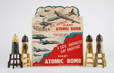 batteredshoes:  savage-america:  Royal Toy Mfg. Co., New York City.    Safe, Harmless, Boom