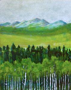 "Saatchi Art Artist Sandrine Pelissier; Painting, ""The abstract in Nature"" #art"