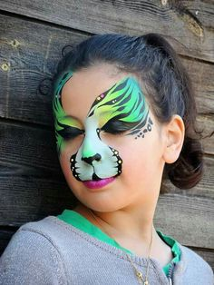 Register an account with Binance today Face Painting Tips, Belly Painting, Face Painting Designs, Animal Face Paintings, Animal Faces, Maquillage Halloween, Halloween Makeup, Scary Halloween, Scary Makeup