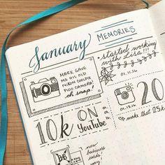 Boho Berry se sert d'un carnet en pointillés (dotted) pour son bullet journal ! Découvrez comment choisir votre matériel pour commencer le vôtre sur lutetiaflaviae.com