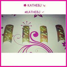 #pretty #diseño #design  #uñas #nails #KATHEBJ ✔