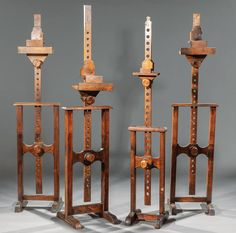 Buy online, view images and see past prices for Four Carved Walnut Adjustable Easels. Invaluable is the world's largest marketplace for art, antiques, and collectibles. Easels, Auction, Chandelier, Carving, Ceiling Lights, Home Decor, Saw Horses, Candelabra, Decoration Home
