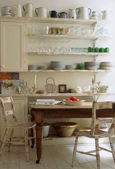Vintage kitchen , homey